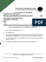 104597315 Soalan Percubaan Khb Kt Pmr 2012 Selangor