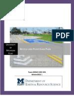 U of M-Flint Bike and Pedestrian Plan