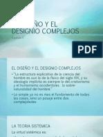EL DISEÑO Y EL DESIGNIO COMPLEJOS