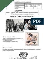 Revolucion Rusa. Clases