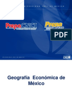 Geografia Economica de Mexico