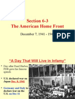 3. American Home Front WWII