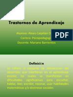 Trastornos de Aprendizaje PPT