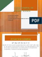 Ecuacion General de Segundo Grado de Las