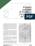 5to Postulado de Euclides y Las Geometrias Especiales