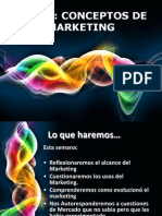 Tema i Conceptos de Marketing