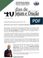 campanha jejum 2013