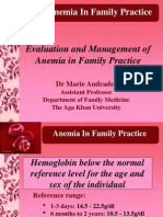 Anemia in Clinical Practice
