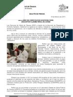 19/02/13 Germán Tenorio Vasconcelos mantiene Sso Verificacion Sanitaria Para Descartar Clembuterol en Carne