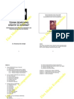 Book TeknikSearchingEfektifInternet