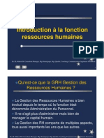 1.Introduction à la fonction RH [Mode de compatibilité]