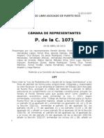 P. de la C. 1073