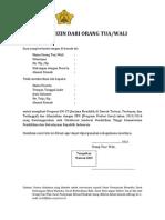 Surat Izin Dari Orang Tua Pernyataan Belum Menikah Surat Pernyataan Bersedia Sm3t