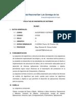 1v1032 - Silabo de Algoritmos y Estructura de Datos