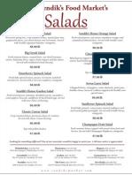 Sendik's Catering Salads