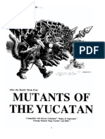 (RPG) TMNT - Mutants of the Yucatan