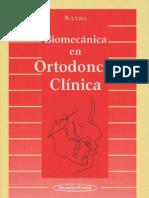 Biomecánica en Ortodoncia Clínica - Nanda