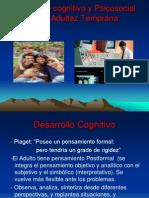 D II - CLASE 2- Desarrollo Cognitivo Adultez Temprana