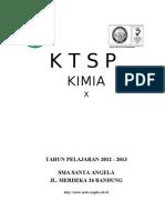 KTSP Kimia Kelas X 2012-2013 Jadi