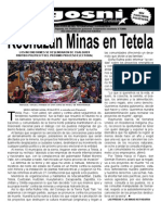 Kgosni 126-Rechazan Minas en Tetela