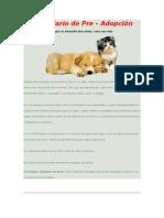 Formularios de Pre Adopcion[1]