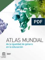ATLAS MUNDIAL de la igualdad de género en la educación