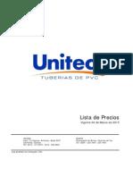 ListaPrecios Uniteca PVC