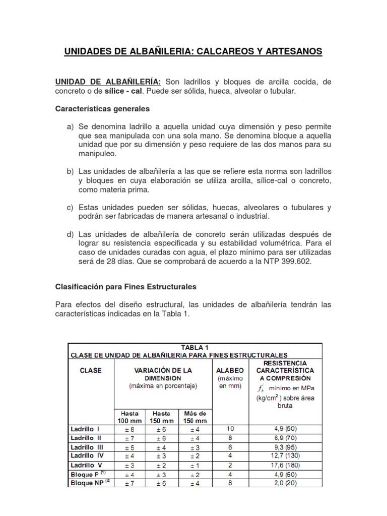 UNIDADES DE ALBAÑILERIA - photo#15