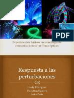 Respuesta a Las Perturbaciones Lab_7