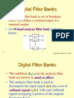 Digital Filter Banks