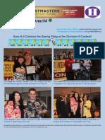 E-Newsletter Area H4 4-2013