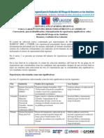 Resultados Convocatoria Experiencias Significativas PR12