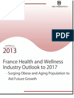 Resilient Performance of France health and wellness industry with augmenting reach to obese and aging population