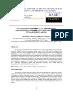 Investigation of Interfacial Properties at Quartz Alkane Interfaces Using Molecular