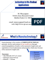 Nanotechnology in Bio-Medical Applications