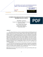 Coordination Issues of Multi-Agent Systems in Distributed Data Mining