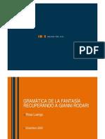 Gramatica de La Fantasia - Ejercicios