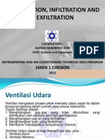 Ventilation, Exfiltration and Infiltration
