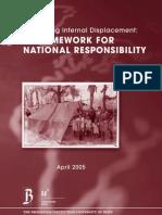 A Framework for National Responsibility