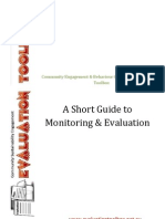 A Short Guide to Monitoring and Evaluation Copy
