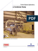 Fisher Turbine Bypass Applications Bulletin July 2002
