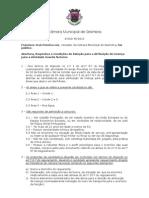 Concurso Público para Licenciamento de Guardas-Nocturnos em Sesimbra