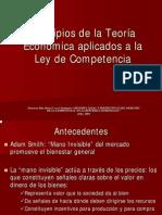 Principios de La Teoria Economica y La Ley de Competencia