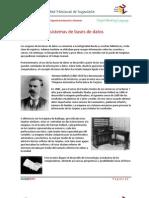 Historia de Los Sistemas de Bases de Datos