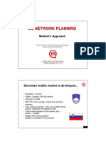 3G Network Planning - Mobitels Approach