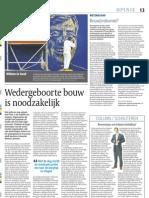 Artikel Cobouw Wedergeboorte Bouw is Noodzakelijk 1COB P13 077-25!04!2013