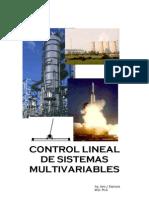 Control Lineal de Sistemas Multivariables - Jairo Espinosa