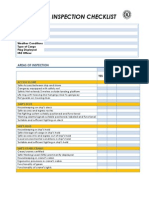 Plipdeco Haulier Inspection Checklist Sample Form