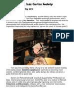 HJGS Newsletter 21 May13