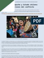 Pueblo mapuche y Estado chileno